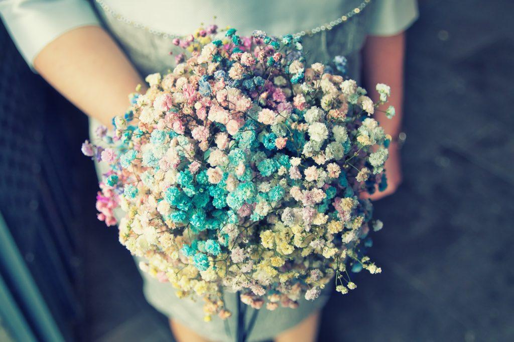 Blumenstrauß Frühlingsblumen