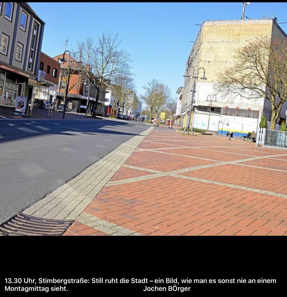 leere Stadtmitte_Fotocredit: WAZ