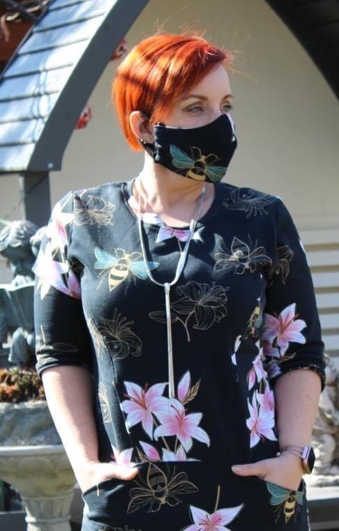 Kleid mit Maske Sara Kleinsein
