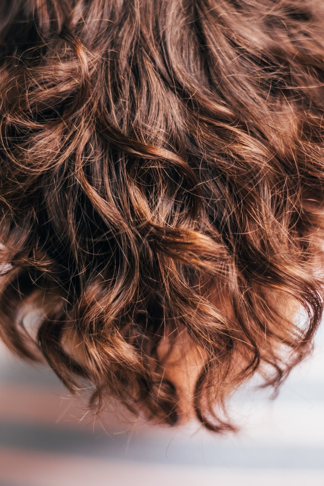 Foto gepflegte Haare hier Lockenmähne