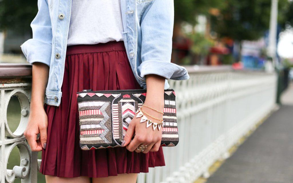 Tasche als Accessoire
