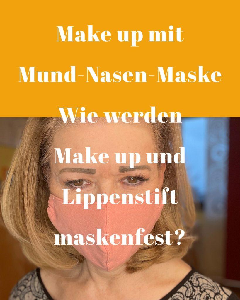 Maskenfestes Make up