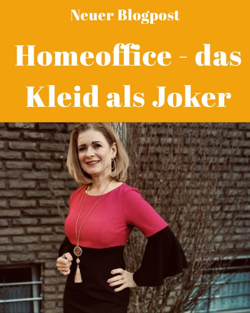 Homeoffice - das Kleid als Joker