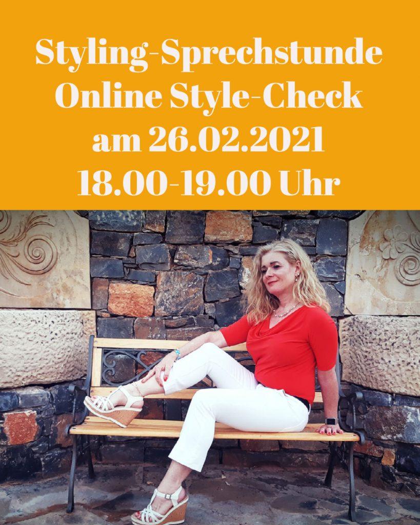 Online Styling-Sprechstunde und Style-Check
