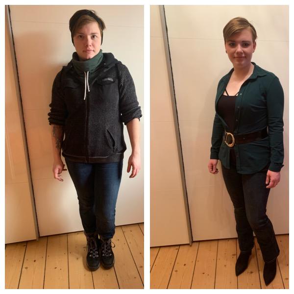 Größer und schlanker wirken durch besseres Styling