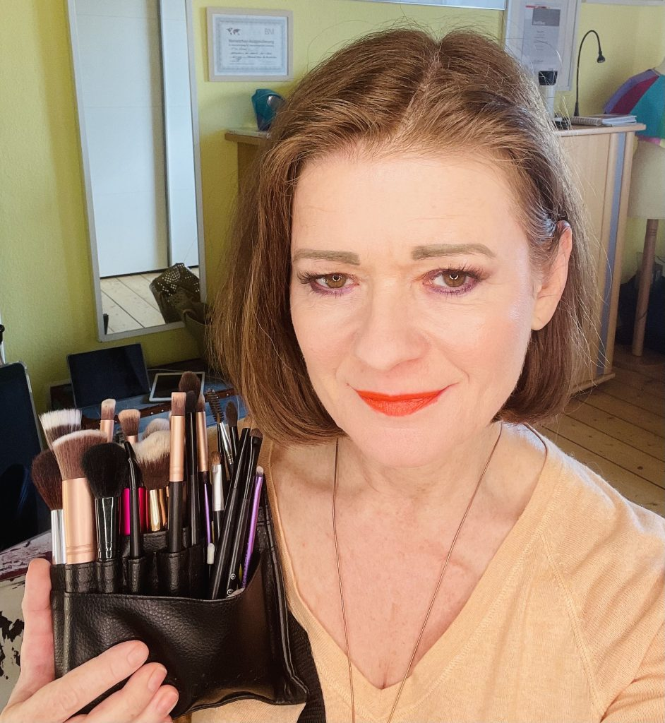 Make up Pinsel-Auswahl