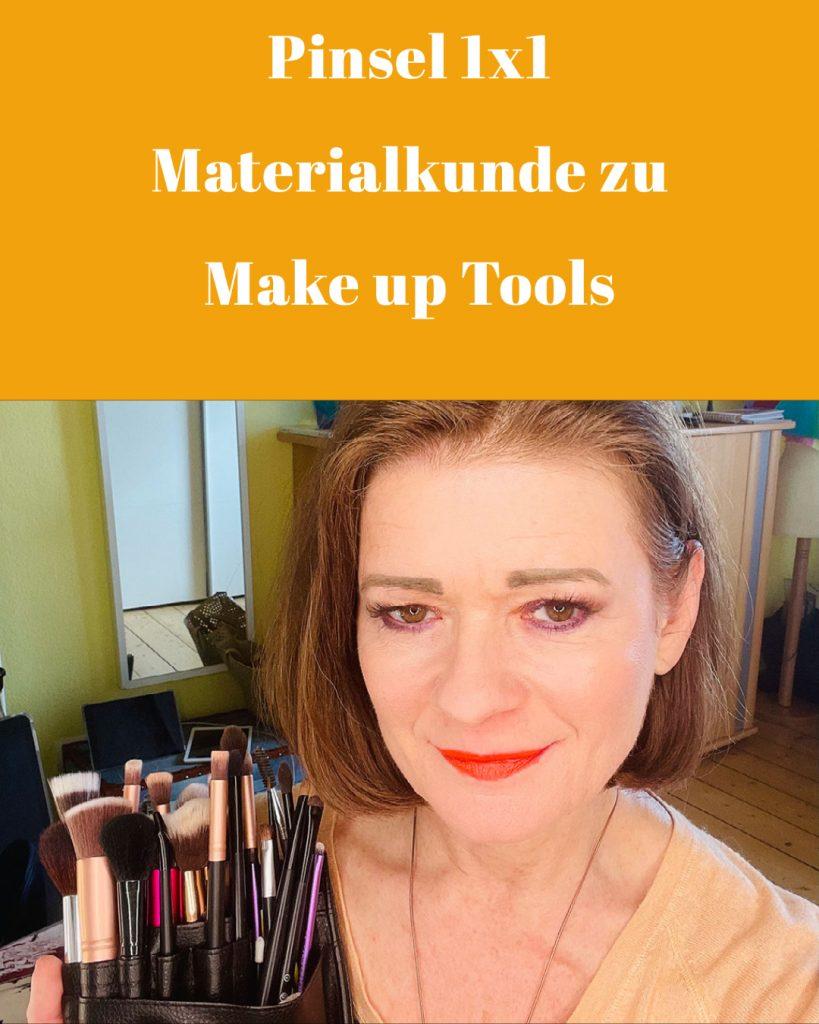 Das Pinsel 1x1 - Materialkunde zu Make up Tools