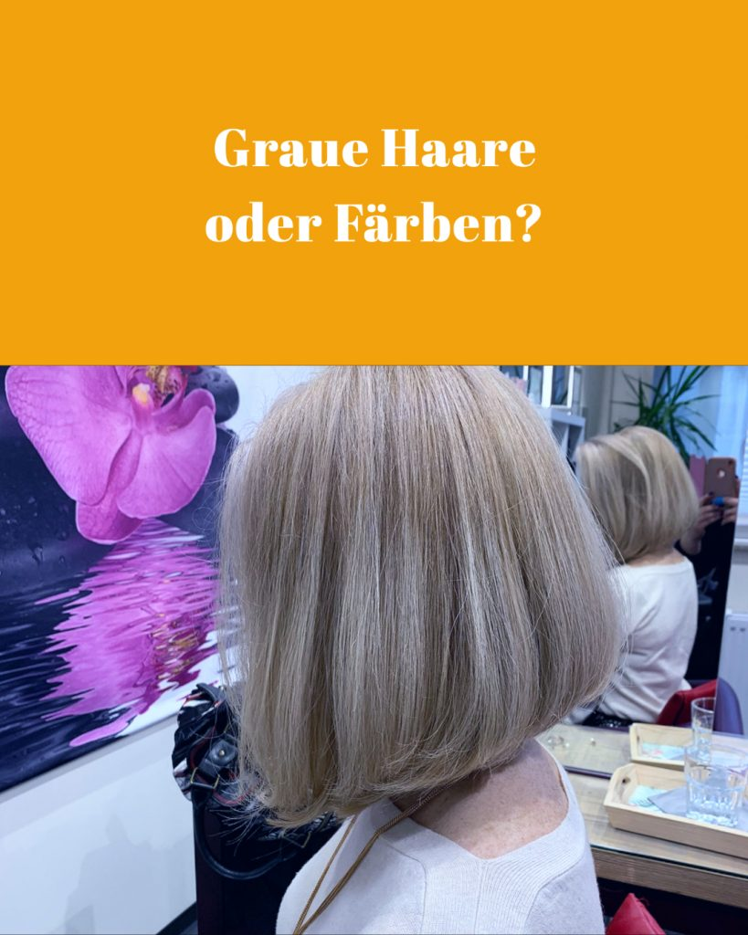 Vorschaubild Graue Haare oder Färben