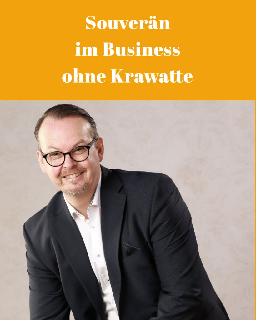 Souverän im Business ohne Krawatte