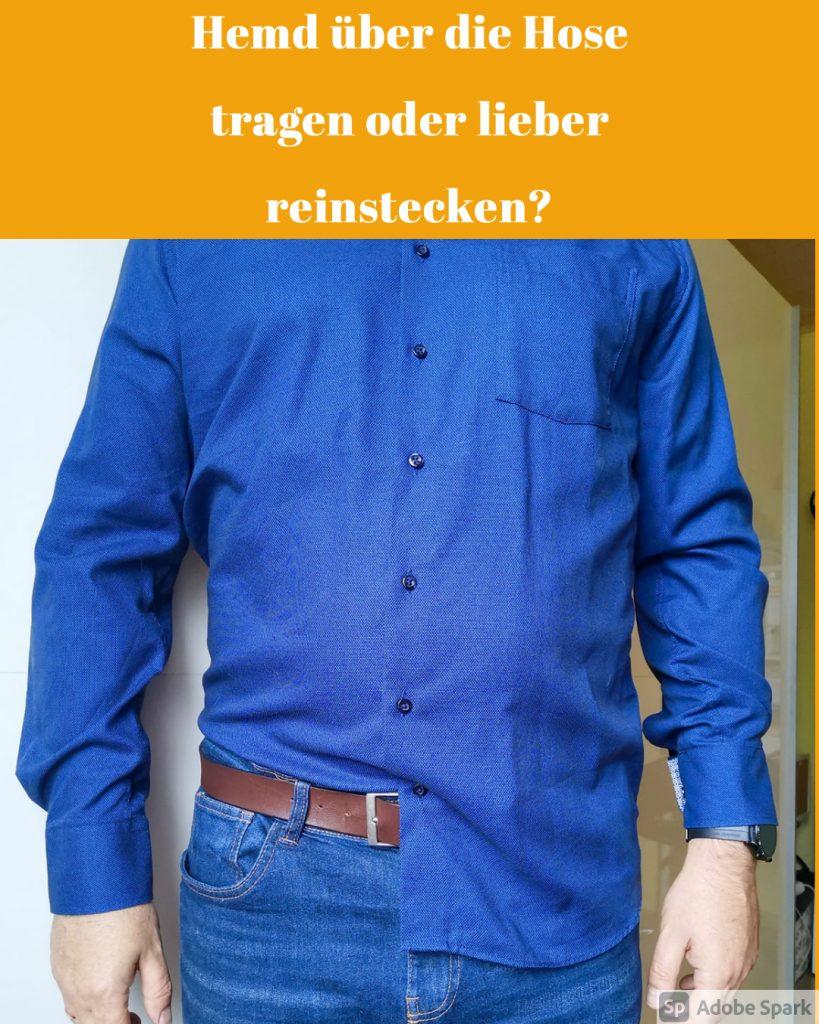 Vorschaubild Hemd über Hose