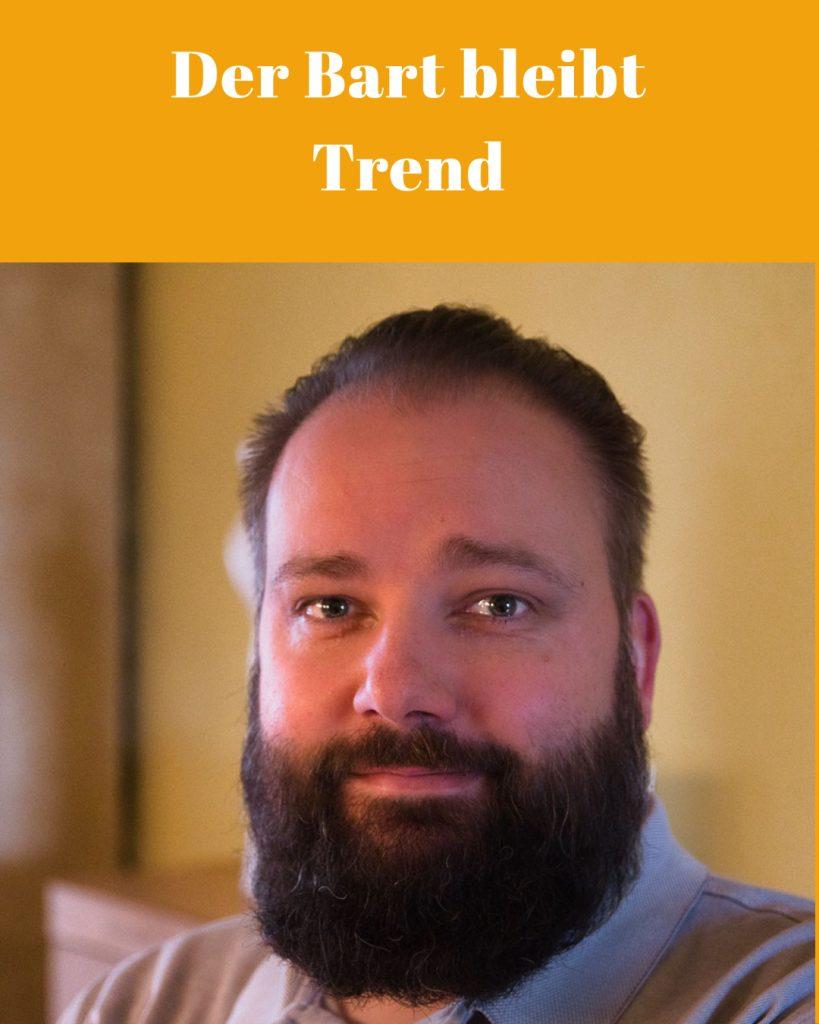 Der Bart bleibt Trend